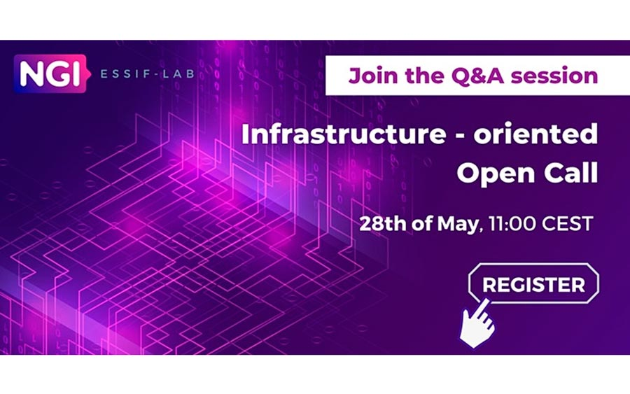 Q&A session on Infrastructure-oriented Open Call